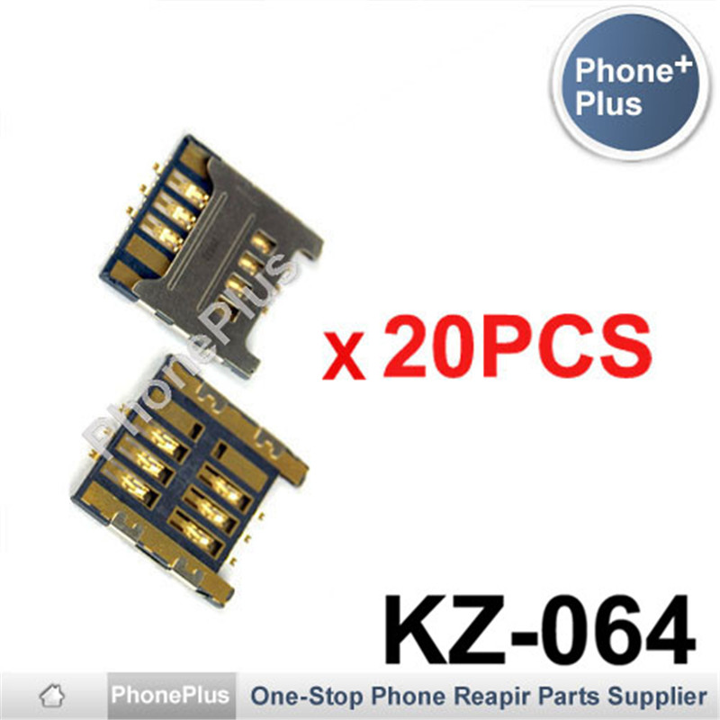 20/50/100PCS For Samsung Galaxy S i9000 C3750 S5360 S3850 Note i9220 N7000 SIM Card Tray Slot Holder Socket Connector Plug