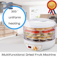 220V Household Fruit And Vegetable Meat Herbs Food Dryer Drying Fish Machine 5 Layers Food Dehydrator