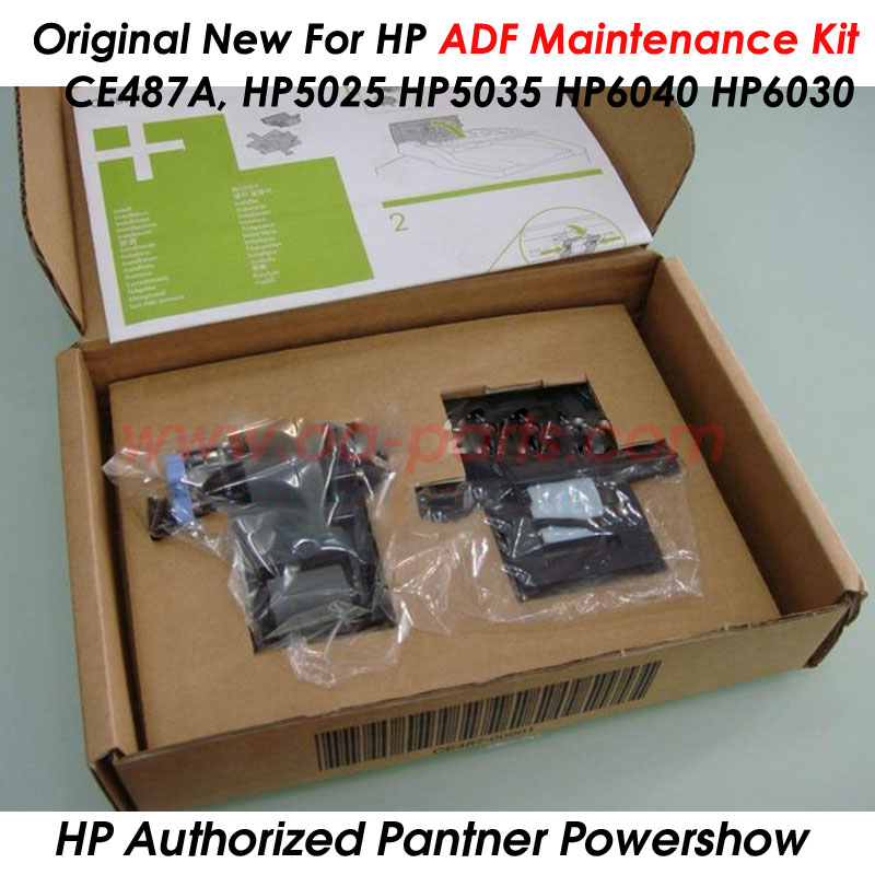 ФОТО Original New For HP5025 HP5035 HP6040 HP6030 ADF Maintenance kit OEM#: Q3938-67994 Q7842-67902 CE487A Spare parts