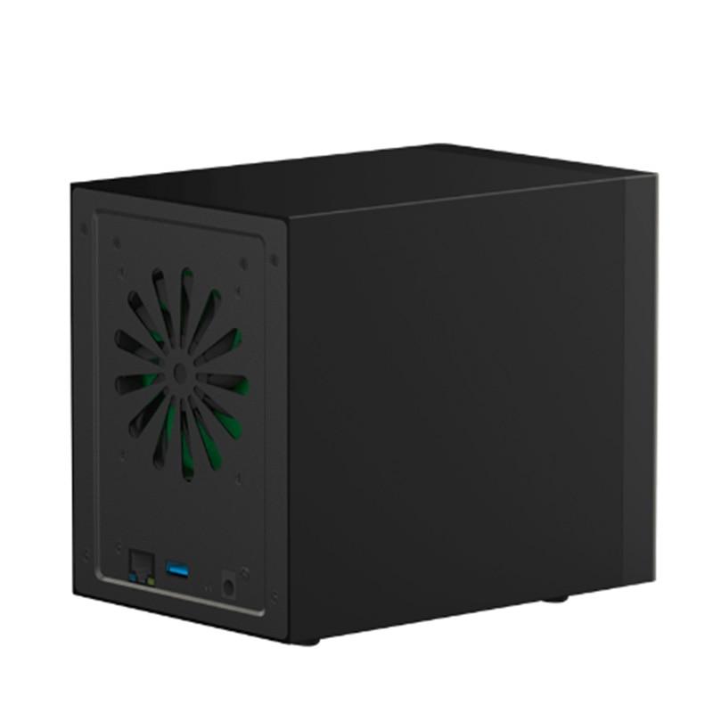3.5 Gigabit Ethernet NAS HDD Enclosure Smart HDD Case For 3.5'' Hard Disk Gigabit Ethernet Interface Nas Remote Access Disk