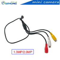 Yeni 1.3MP/2.0MP 3.7mm lens süper küçük ses ile renk video kamera hattı MIC HD Tiny Mini ev Güvenlik CCTV İğne Deliği Kamera