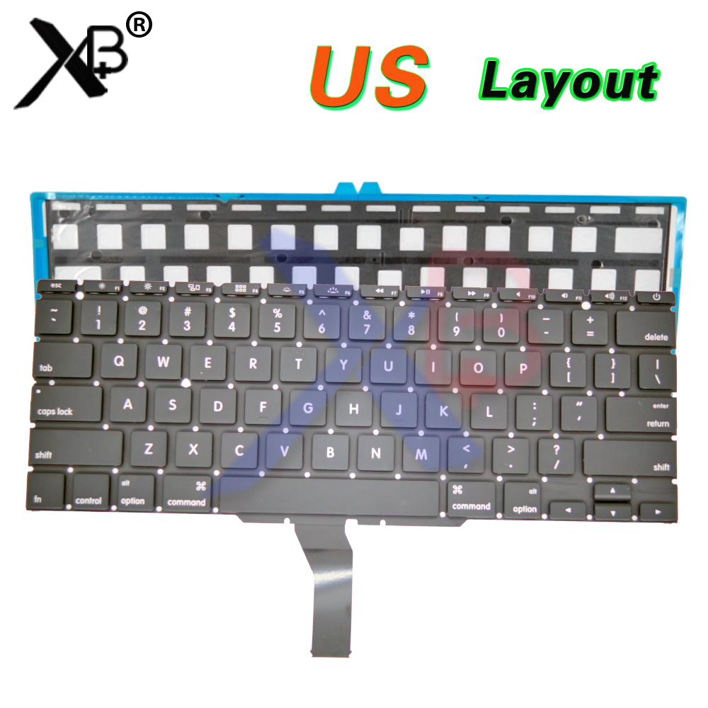 For Us Apple Macbook Air A1370-2010 Replacement Keyboard Keys Right Option