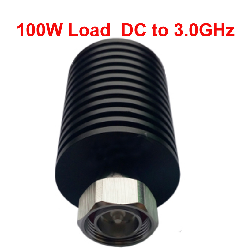 telecom RF load 100W 7/16 DIN connector DC-3ghz feeder connector RF COAXIAL cable jack cable load Communication converter