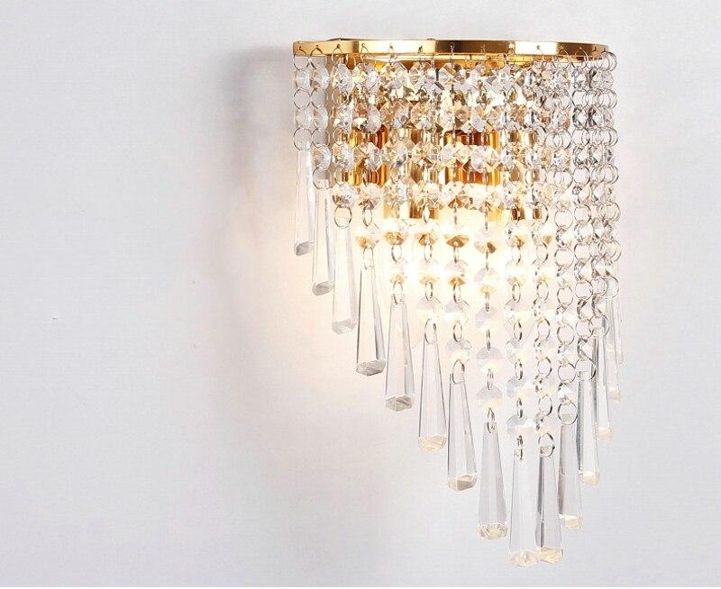 Cristal LEVOU Lâmpada de Parede Moderna E14