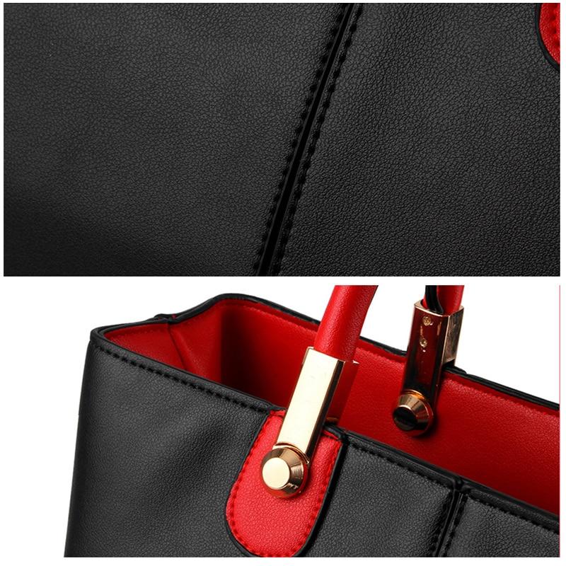 Ženske usnjene torbice ženska nova ženska oblačila moda svetlo - Torbice - Fotografija 6