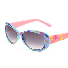Fashion Kids Sunglasses Children Sun Protection Glasses Anti-UV Baby Vintage Flower Eyeglasses Fashion Oculos Infantil De Sol