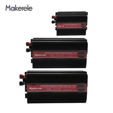 300w 500w 600W Modified Sine Wave Inverter Portable Car Power Converter DC 12v 24v 48v To Ac 110v 220v Solar Power Off Grid peak full power 500w solar inverter pure sine wave inverter car power inverter 12v 24v to 120v 220v dc to ac voltage converter