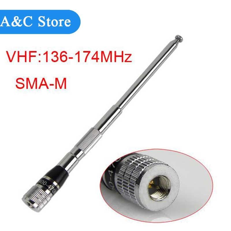 136 174MHz astro 320 telescopic hunt tracking antenna 1m vhf antenna for font b walkie b