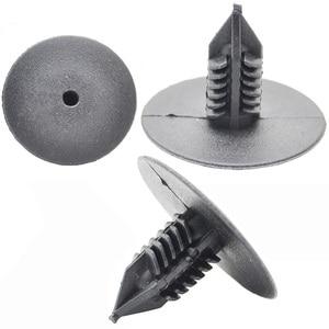 Image 5 - 50Pcs 10mm For Toyota VW Renault Plastic Rivets Fasteners Door Fender Bumper Cover Push Pin Clips Clip