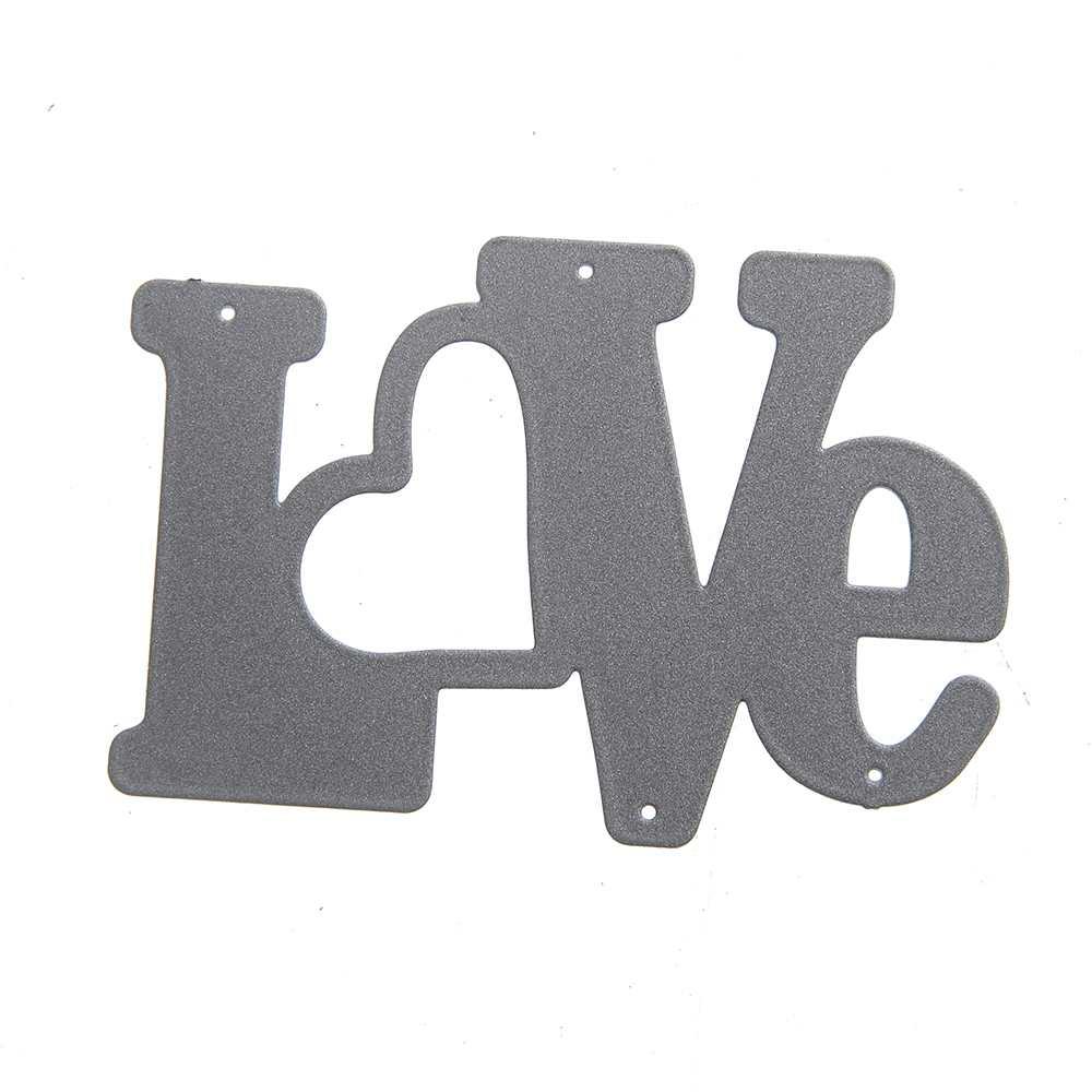 60.6*40mm scrapbooking DIY Carbon love heart Sharp Metal steel cutting die Flower Shape Book photo album art card Dies Cut