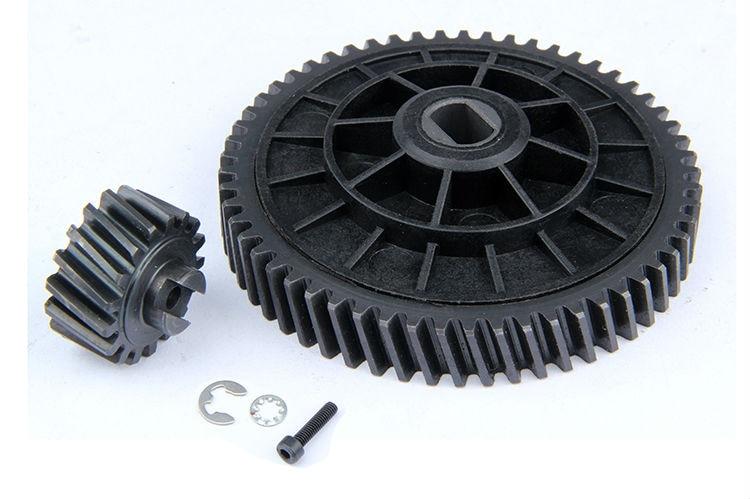 RC car CNC 57/17 metal helical gear kit for1/5 HPI baja 5b KM ROVAN NEW baja sliver color cnc alloy elevation baseboard angle chassis base bottom board skid plate for1 5 hpi baja 5b km rovan