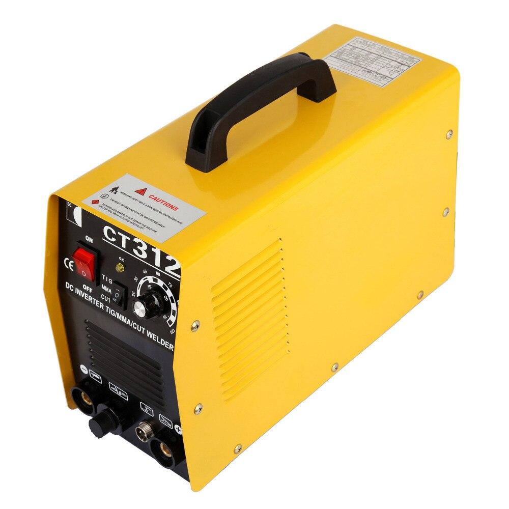 c1b6c3e61f676 (Wysyłka z ue) 3 w 1 CT312 TIG/MMA Air Plasma Cutter spawacz spawanie Torch  maszyny