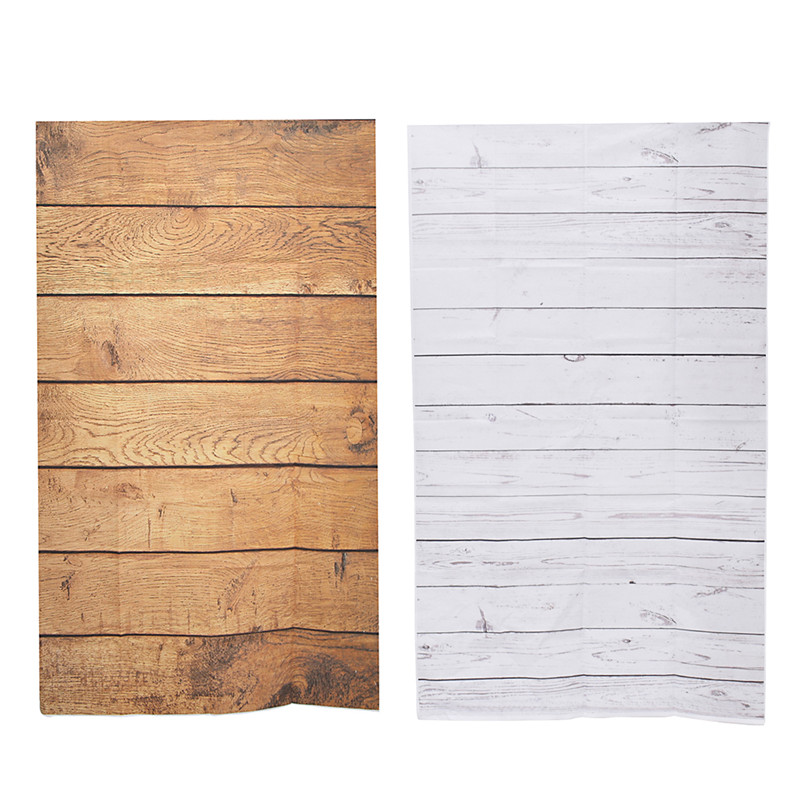 3x5ft Wood Grain Photography Background For Studio Photo Props Thin Photographic Backdrops 90 x 150cm Brown White shengyongbao 300cm 200cm vinyl custom photography backdrops brick wall theme photo studio props photography background brw 12
