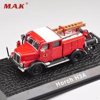 1: 72 Horch H3A Pressofuso In Lega Modello di Camion Dei Pompieri Modellini Auto Giocattoli Per Bambini Regali di Raccolta