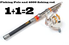 Buy online 2014 rushed shrink carbon sea rod 2.1-3.6m metal reel seat long shot rods cast fly products fishocean beach fishing superhard