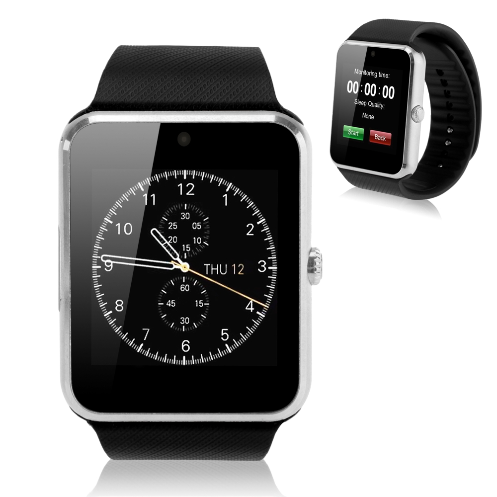 iRULU GT08 Smart Watch Bluetooth font b Smartwatch b font for iPhone 6 puls 5S Samsung