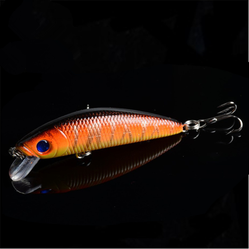 7cm 8.1g Swim Fish Fishing Lure Artificial Hard Crank Bait topwater Wobbler Japan Mini Fishing Crankbait lure FA-285