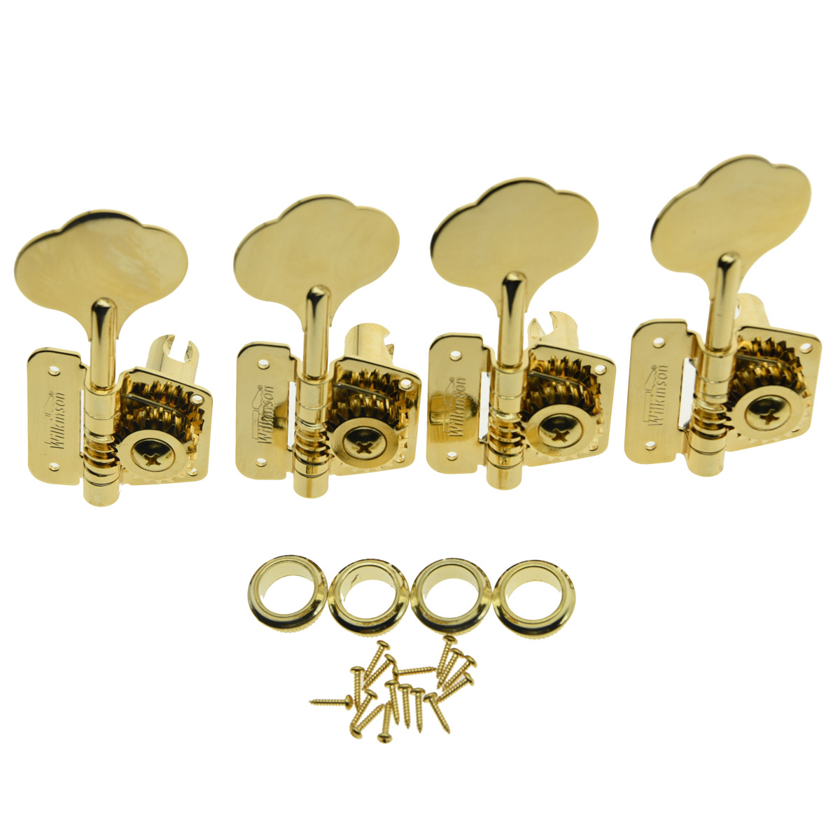 цена на Dopro Wilkinson Gold Bass Tuners Tuning Keys for 70's Vintage J Bass Precision Bass