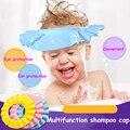 2016 new Resizable Baby Shower Cap Shield Direct Visor Caps Shampoo Caps For Children Baby Hat Hair Shampoo Visor for Swimming