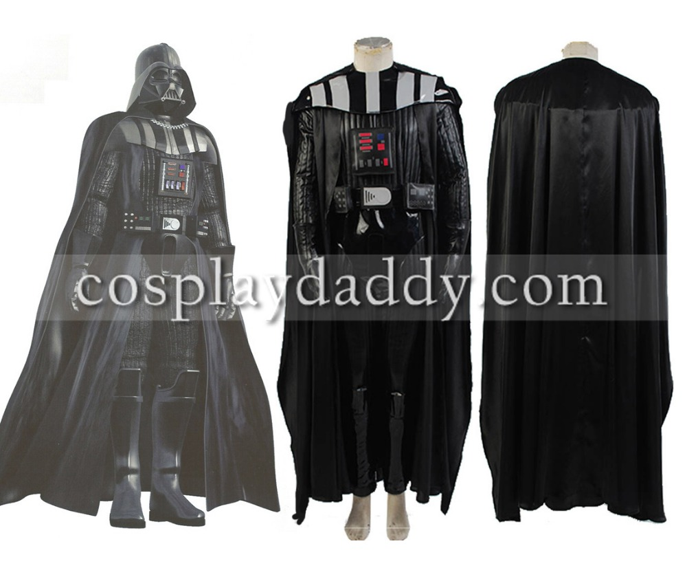 Star Wars Anakin Skywalker dark vador tenue Halloween Cosplay Costume uniforme (pas de masque)