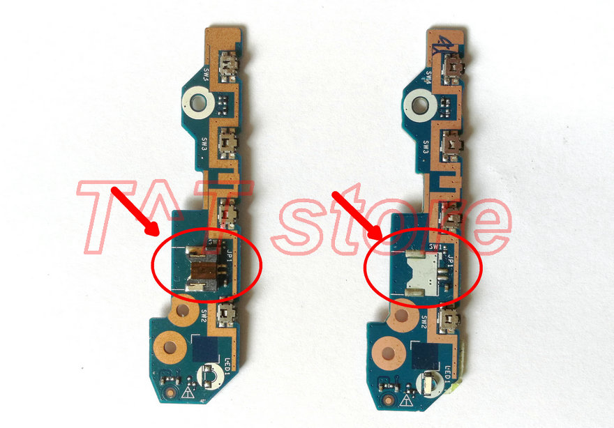 Able Reboto Original For Lenovo Yoga 15 Power Switch Board Ls-b591p 00jt297 100% Tested Fast Ship Computer & Office