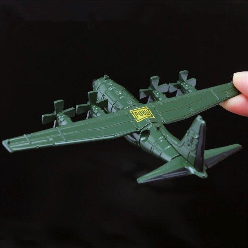 a7b00ba56 Juego PUBG avión Playerunknown de campo de batalla Cosplay disfraces  accesorios aleación armadura ...