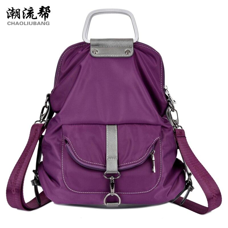 Handbags Euramerican Style Genuine new fashion waterproof nylon Oxford women travel tote bag portable shoulder messenger bag
