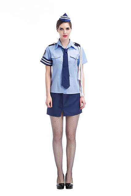 Adult Women Police Sexy Costume Idea Fancy Cops Cosplay School Girls Uniform Hot Shirt Skirt Clothing  sc 1 st  AliExpress.com : childrens tudor costume ideas  - Germanpascual.Com