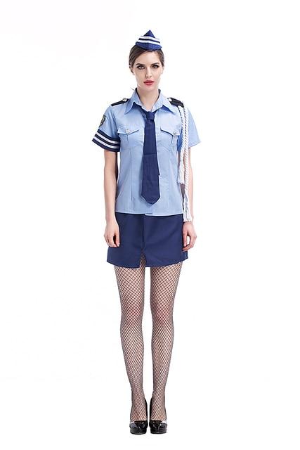 Adult Women Police Sexy Costume Idea Fancy Cops Cosplay School Girls Uniform Hot Shirt Skirt Clothing  sc 1 st  AliExpress.com & Adult Women Police Sexy Costume Idea Fancy Cops Cosplay School Girls ...