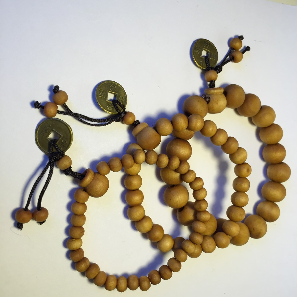 6b04714258 Buddhist Tibetan Decor Prayer beads Natural Handmade Bracelet Bangle Wrist  Ornament Wood Buddha Beads Women Men Jewelry-in Strand Bracelets from  Jewelry ...