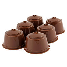 Capsule Pod Coffee Filter Cup Holder For Nescafe Gusto Machine New Reusable Kitchen Accessories