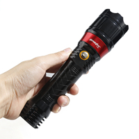 SKYWOLFEYE Zoomable XPE Flashlight Torch 18650 Battery Adjustable Tactical Camping Bicycle Lights Led Bulbs Rechargeable Mining