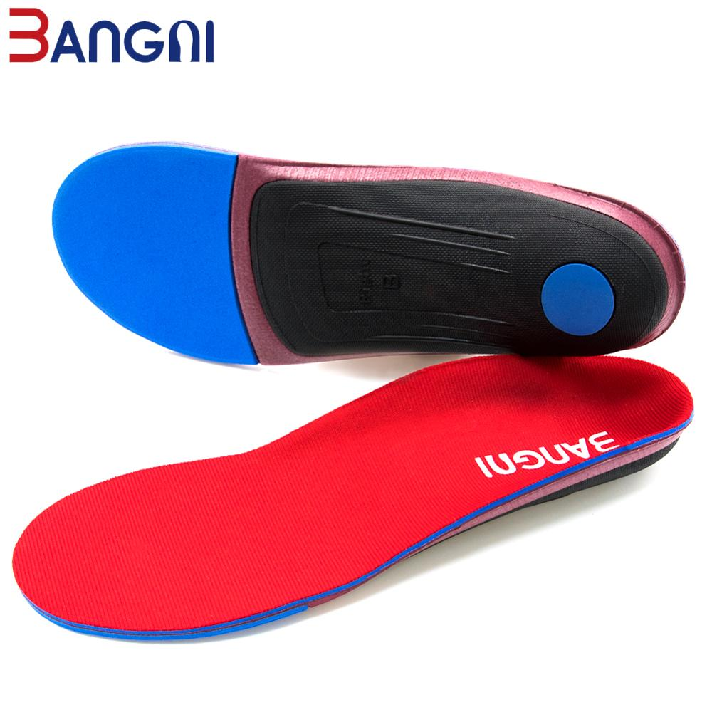 3ANGNI Orthotic Arch Support Shoe Insert Orthopedic Mild/Moderate Flat Feet Insole Heel Pain Plantar Fasciitis Men Woman