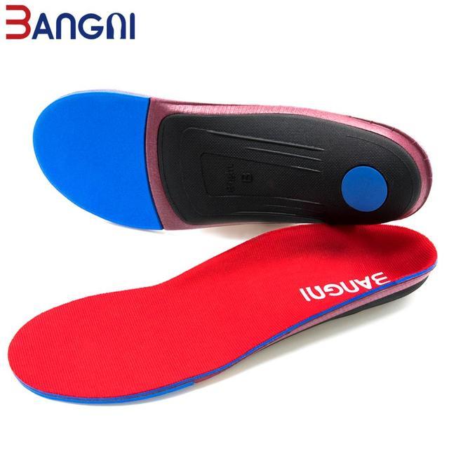 3ANGNI Orthotic Arch Support Shoe Insert Orthopedic Mild/Moderate Flat Feet insole Heel Pain Plantar Fasciitis Men Woman