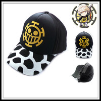 IVYYE One Piece Law Fashion Anime Baseball Cap Snapback Caps Cotton Sport Ball Hats Summer Sun Hat Unisex New Gifts