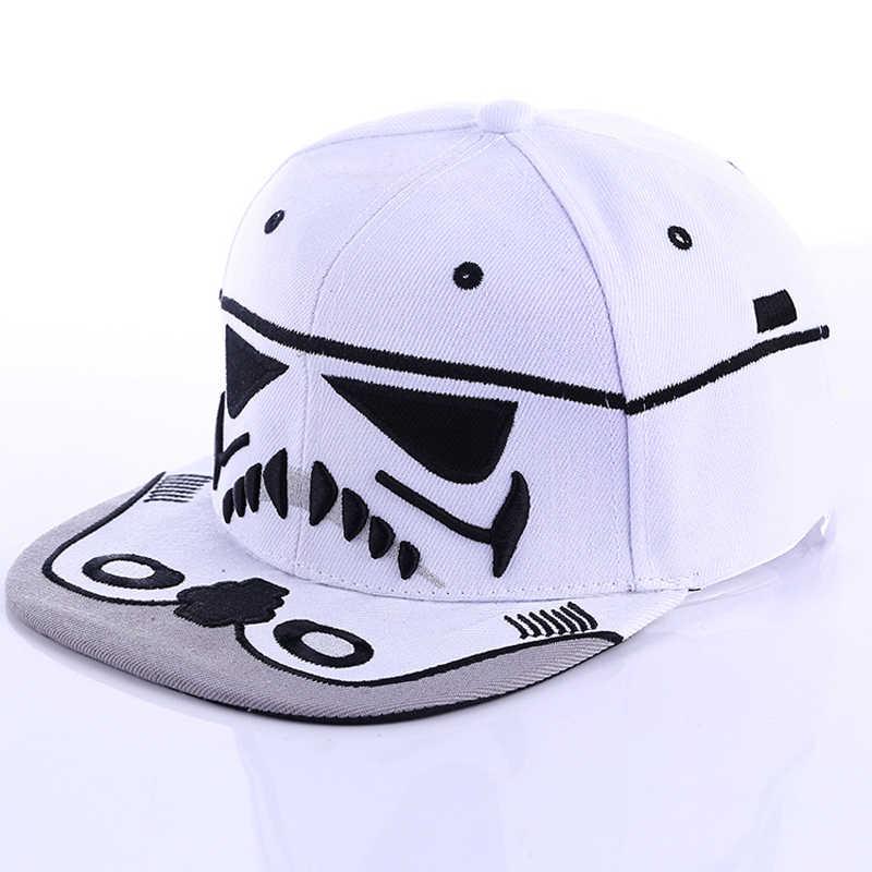 c4ae151c46e Fashion Summer 1Pc Unisex Cool Snapback Hats Cool Boy Strapback Letter  Baseball Cap Black White Men