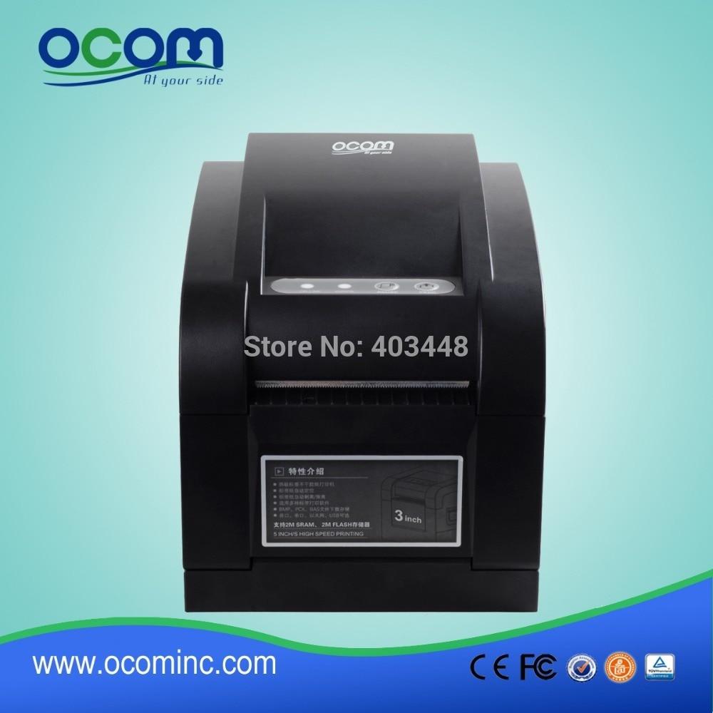 OEM thermal sticker printer printing sticker label