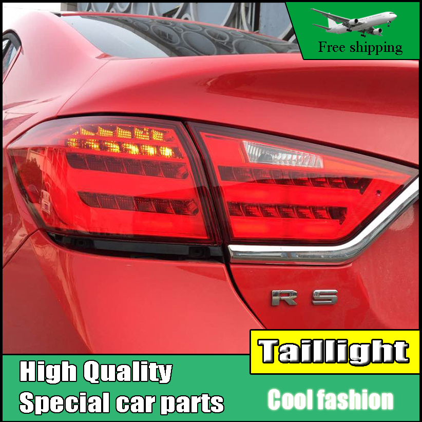 Car Styling LED Tail Lamp For Chevrolet Cruze 2015 2016 Sedan Taillights Rear Light DRL+Turn Signal+Brake+Reverse Accessories car styling led tail lamp for mondeo led taillights 2013 2015 rear light drl turn signal brake reverse auto accessories