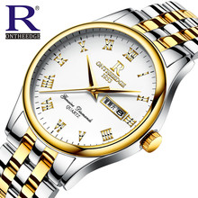 Simple Moda Casual de Negocios Hombre de Primeras Marcas de Lujo Relojes Hombres Fecha Mens Reloj de Cuarzo Resistente Al Agua Relogio Gran Caída de los Precios