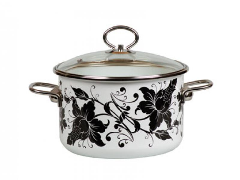 Pan VITROSS, Tango, 3 L, with glass cover pan vitross fruits 3 l with glass cover