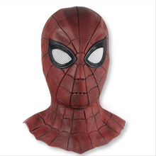 Far From Home Movie Stealth Suit Superhero Spiderman Cosplay Accessories Full Head Spiderm Mask Props Helmet For Halloween Party