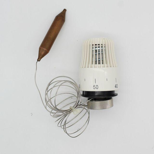 חיסכון באנרגיה 30 70 תואר בקרת רצפת חימום מערכת תרמוסטטי רדיאטור שסתום ראש; m30 * 1.5mm מרחוק בקר