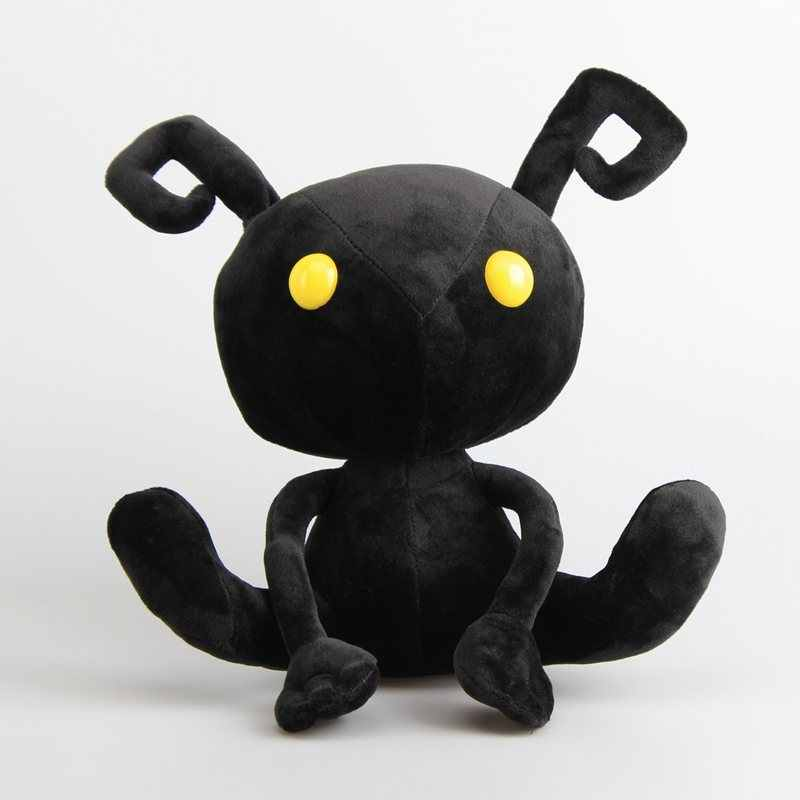 "30cm Kingdom Hearts Shadow Heartless Ant Soft Plush Toy Doll Stuffed Animals 12"" Birthday Christmas Gift"
