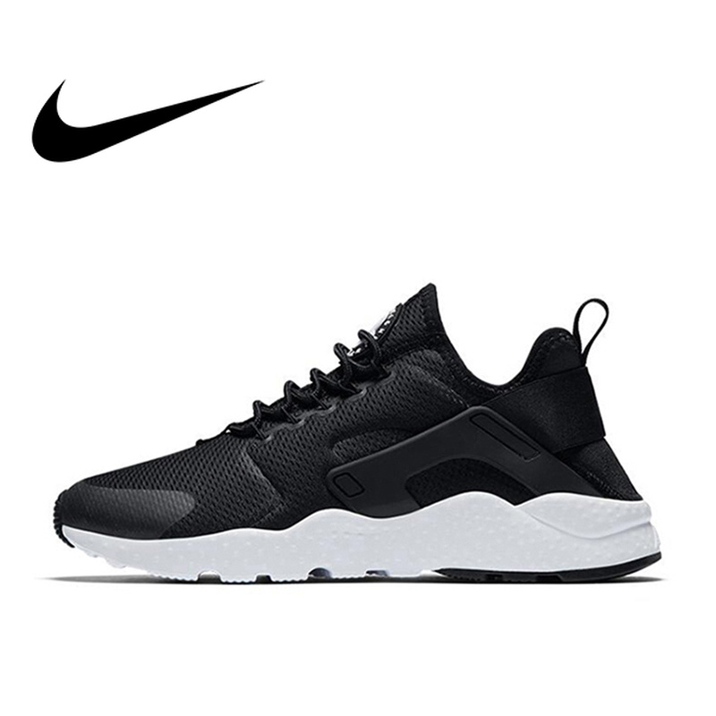 dd604633158c Original Authentic Nike Air Huarache Run Women s Breathable Running Shoes  Sports Sneakers Athletic Shoes Roshe Classic 819151-in Running Shoes from  Sports ...