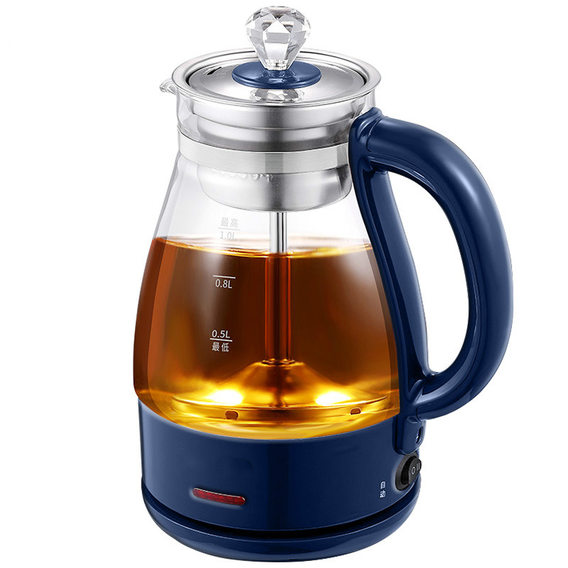 NEW Glass tea pot anhua black household steam full automatic heat - resistant pu 'er chinese yunnan pu er tangerine peel tea f47