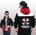 Moletom com capuz Resident Evil Cosplay Traje Com Capuz Brasão Jacket Moda LOGOTIPO Unisex Camisola Hoodies Biohazard Umbrella Corporation