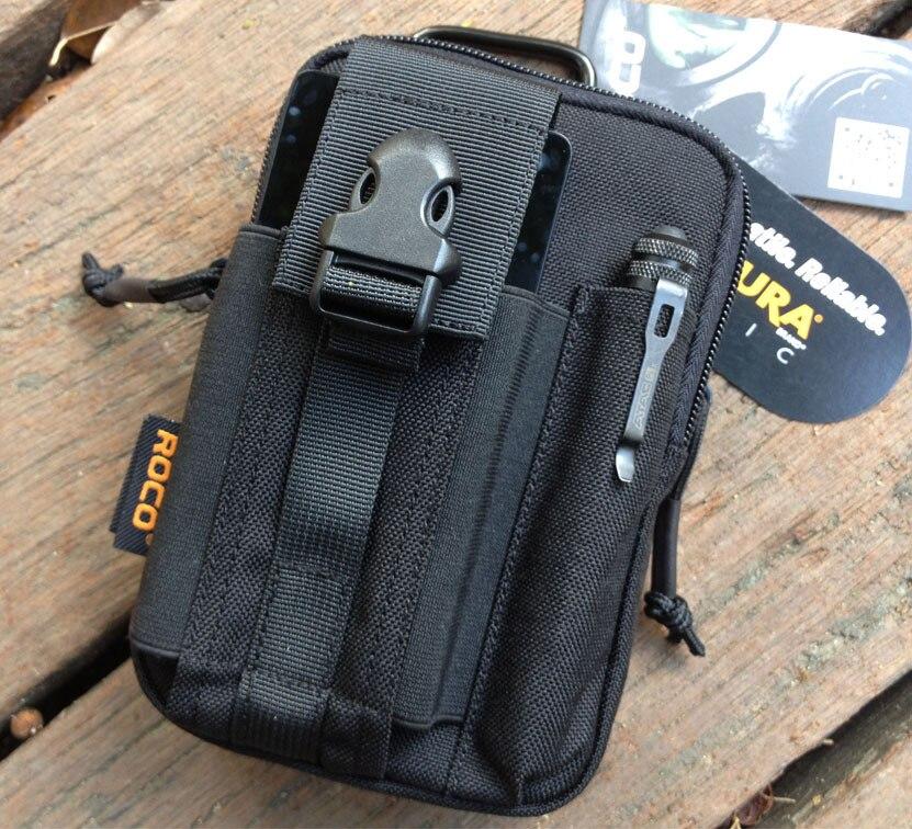 Taktische Molle tasche EDC Utility Gadget Gürtel Sport Taille Tasche mit Handy Holster Halter für iPhone 6 Plus Samsung hinweis