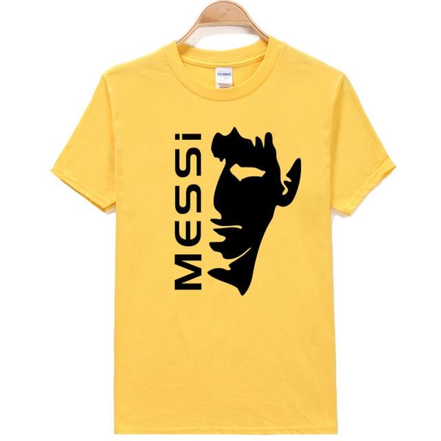 Messi Soccer Player Printed on Shirt
