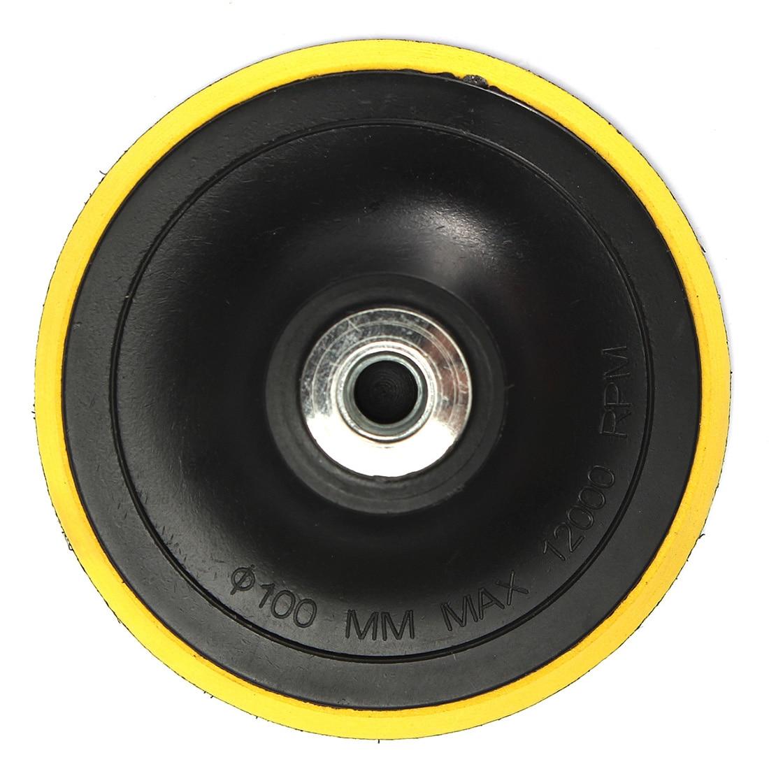 Polishing pad backing pad sanding pad pads M14 for polishing machine New K1 thread polishing pad with self adhesive 175mm 7 thread m14 sanding disc polish pad for electric angle grinder polisher