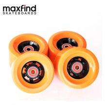 free shipping Skateboard Wheels 1/2/3/4pcs Bearings Smooth Riding 83*52cm Durable PU Wheels Professional Skate Board